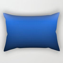 blue luminosity in modern design Rectangular Pillow