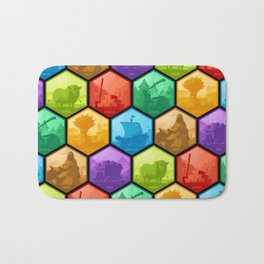 The Resource Conquest - Shaded Bath Mat