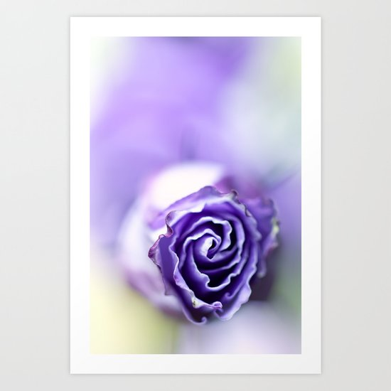 Purple breeze.... Art Print