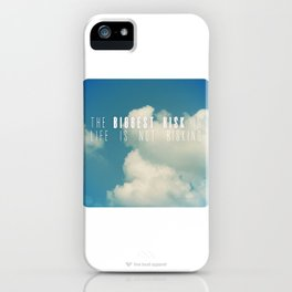 Risk iPhone Case