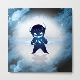 Baby Zoom got angry Metal Print