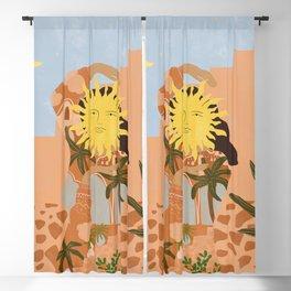 Soul full of sunshine Blackout Curtain