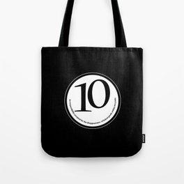 Baked (black-yards) Tote Bag