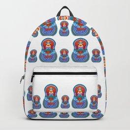 Matrioska with teddy Backpack