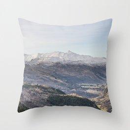 Queenstown Mountains Throw Pillow
