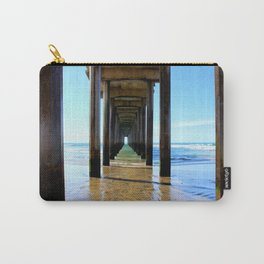 Scripps Pier - Blues Carry-All Pouch