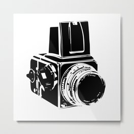 Shoot Film Metal Print