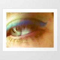 blink 182 Art Prints featuring blink by Dottie