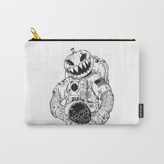 Astronaut's Halloween  Carry-All Pouch