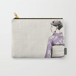 すみれ色の着物 Carry-All Pouch