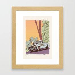 Beach Cop Detectives 00 - The Truck Framed Art Print
