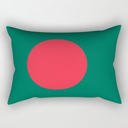 Flag of Bangladesh, High quality authentic HD version Rectangular Pillow