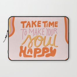 Happy Soul Laptop Sleeve