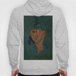"""Amedeo Modigliani """"Red Head (Tête rouge)"""" Hoody"""