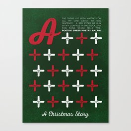 A Christmas Story - A+++++ Canvas Print