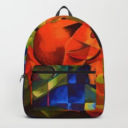 The Pigs by Franz Marc Backpack