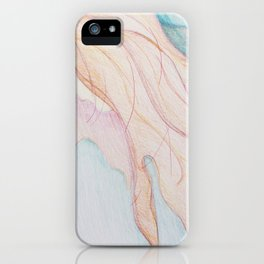 Lost In The Sea Of My Thoughts iPhone Case