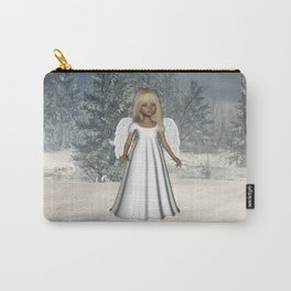 Little Winter Angel Carry-All Pouch