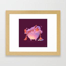 It's Me Time! Framed Art Print