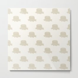 Stumped (Patterns Please) Metal Print