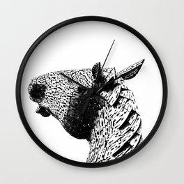 Horse Head. Wall Clock
