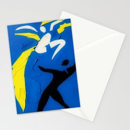 Rare Henri Matisse - Two Dancers Cut-Out Series portrait painting Stationery Cards
