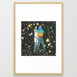 Internal rainbow III Framed Art Print