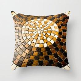 Sunburst Sojourn Throw Pillow