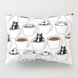 More Coffee French Bulldog Pillow Sham