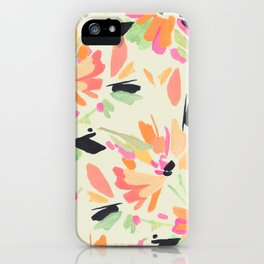 Mod Floral iPhone Case