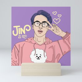Grape Jin Mini Art Print