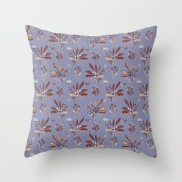 Berries Herbs Seeds Throw Pillow