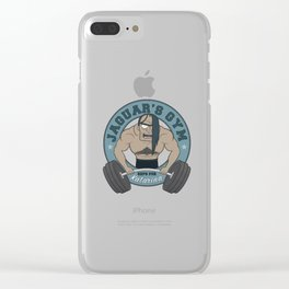 Jaguar's Gym Clear iPhone Case