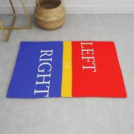 LEFT or RIGHT Rug
