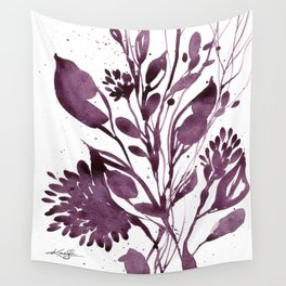 Organic Impressions No. 110 by Kathy Morton Stanion Wall Tapestry