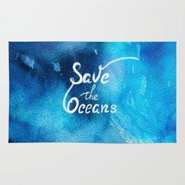 Save Oceans Rug