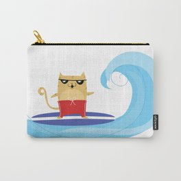 Surfin' Spanky - June Carry-All Pouch