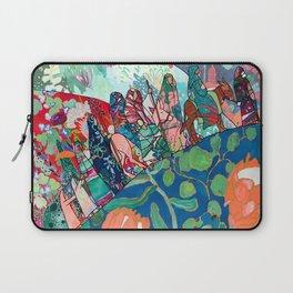Floral Migrant Quilt Laptop Sleeve