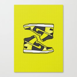 Wu Tang Dunks Canvas Print