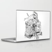 conan Laptop & iPad Skins featuring Worlds within Worlds by KadetKat