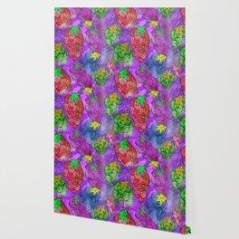 Grapevine Watercolor Wallpaper