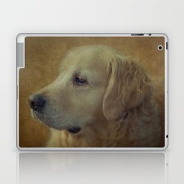 Golden Retriever Laptop & iPad Skin