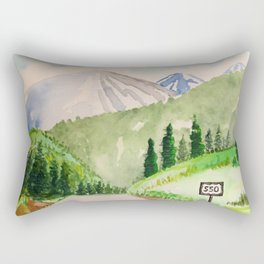 Million Dollar Highway - Ouray to Silverton CO Rectangular Pillow