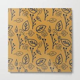 Forest Floor Pop Metal Print