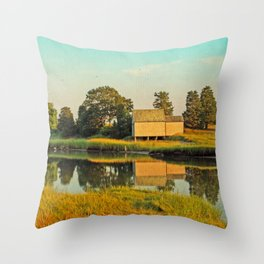 Cape Cod Eastham Eventide Throw Pillow