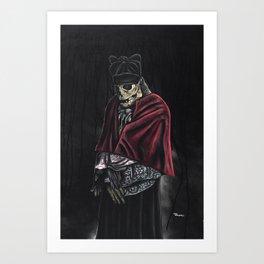 The Priest  Art Print