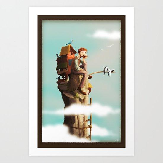 Bird Keeper Art Print