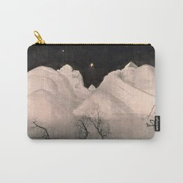 Stars and Heavens in the Heights of the Snow-capped Alpine Mountains by Harald Sohlberg Carry-All Pouch