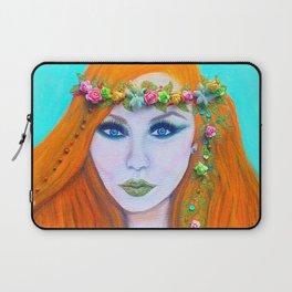 Redhead Poison Ivy Goddess Laptop Sleeve