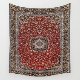 N63 - Red Heritage Oriental Traditional Moroccan Style Artwork Wall Tapestry